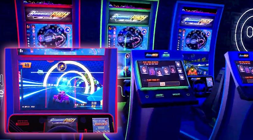 Un jeu vidéo de voitures avec paris au casino