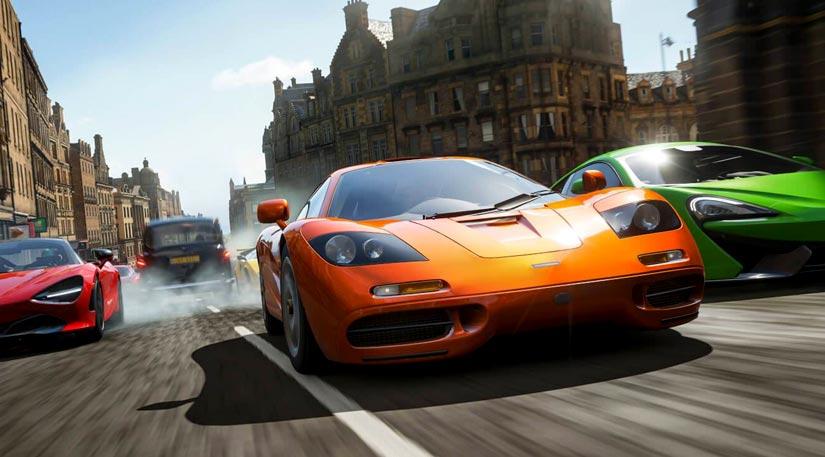 Pilotage et collection d'incroyables voitures dans Forza horizon 4